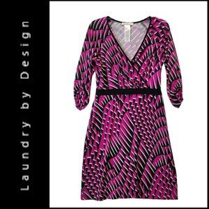 Laundry By Design Women Fit & Flare Dress Size 8